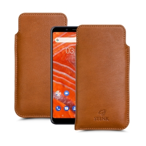 Футляр Stenk Elegance для Nokia 3.1 Plus Camel