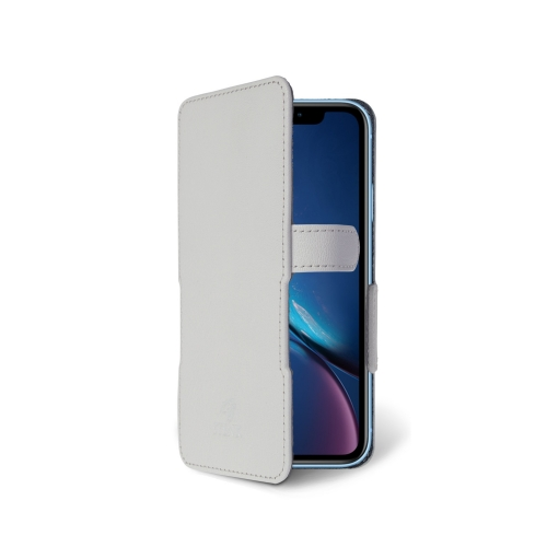 Чехол книжка Stenk Prime для Apple iPhone XR Белый