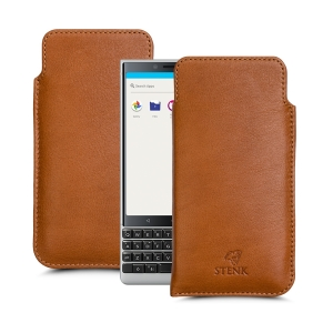 Футляр Stenk Elegance для BlackBerry KEY2 Camel
