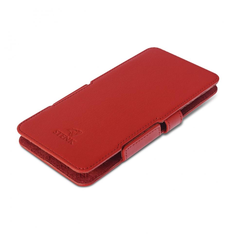 Чехол книжка Stenk Prime для BlackBerry Passport Красный