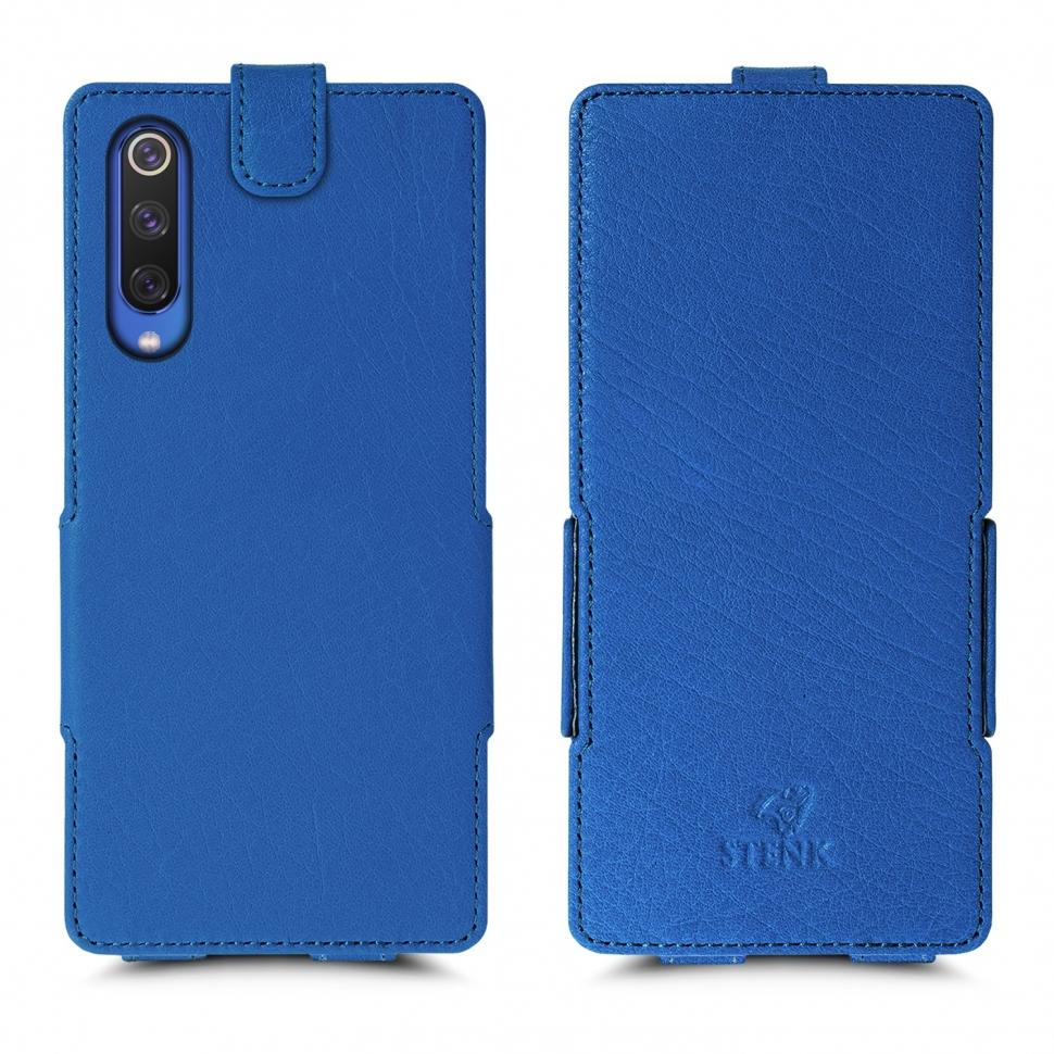 Чехол флип Stenk Prime для Xiaomi Mi 9 Ярко-синий