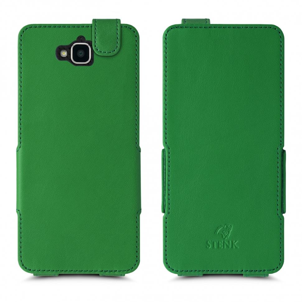 Чехол флип Stenk Prime для HuaWei Y6 Pro Зелёный