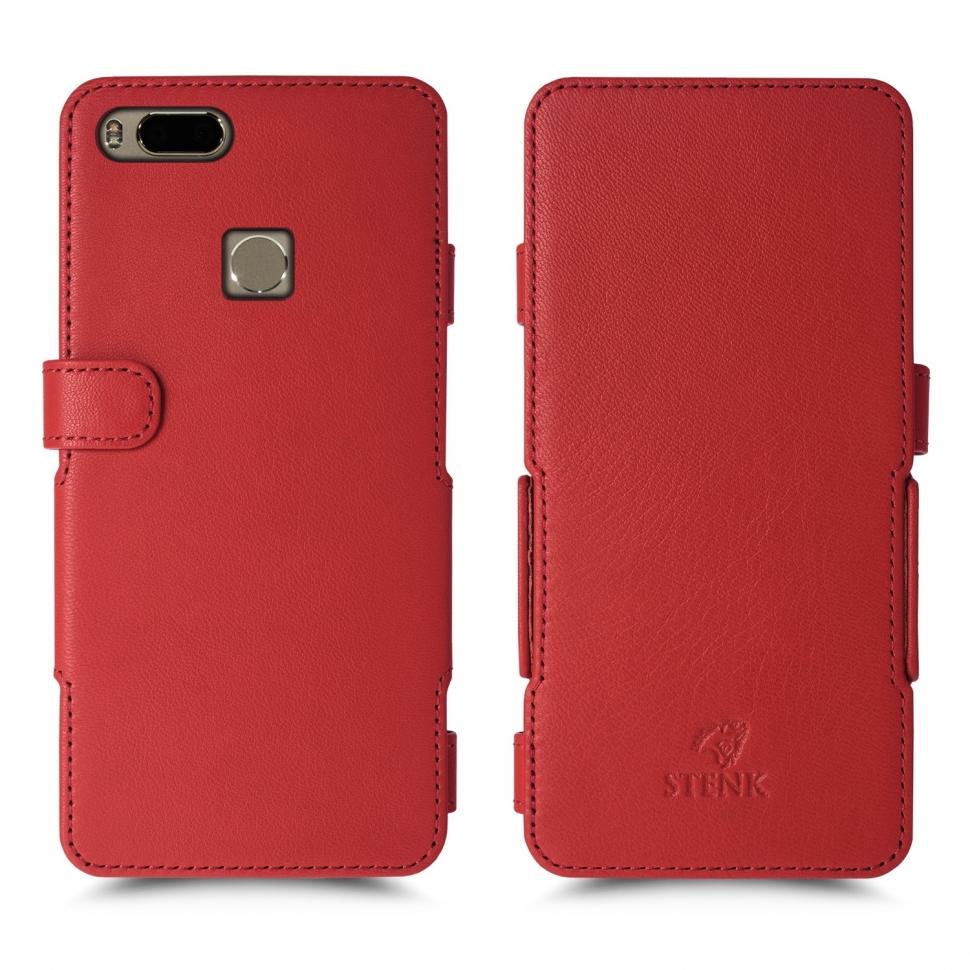 Чехол книжка Stenk Prime для Xiaomi Mi 5X Красный