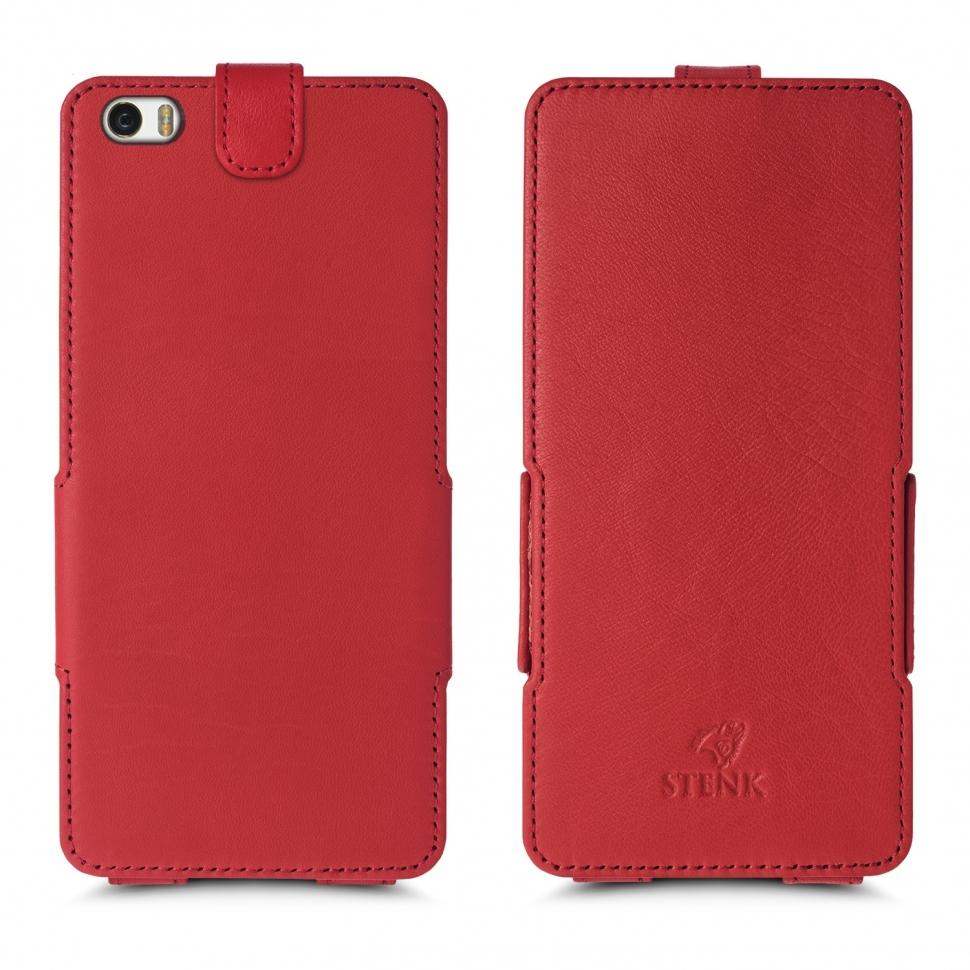 Чехол флип Stenk Prime для Xiaomi Mi Note Pro Красный