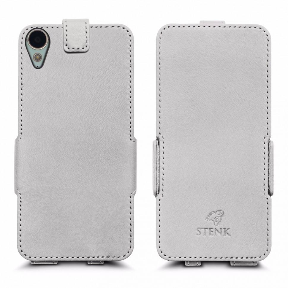 Чехол флип Stenk Prime для HTC Desire 10 Lifestyle Белый