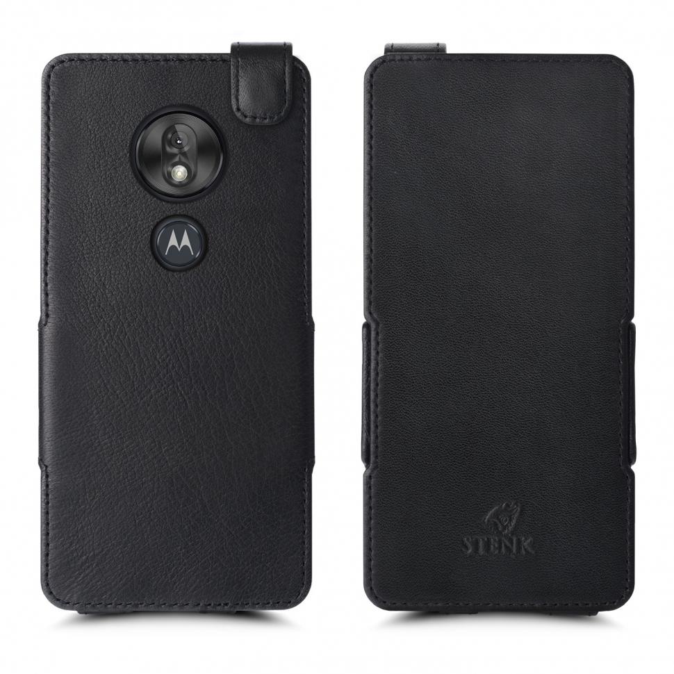 Чехол флип Stenk Prime для Motorola Moto G7 Play Чёрный
